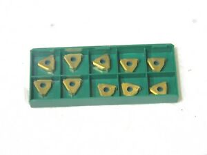 Tool flo Carbide Threading Inserts 16nr10stacme Grade gp50 Box Of 10