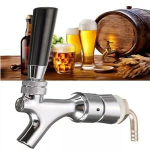 Kegerator Beer Tap Faucet Draft Shank With Elbow 1 2 5 x3 16 Brass Tube