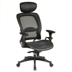 Scranton Co Back And Seat Ergonomic Office Chair With Headrest