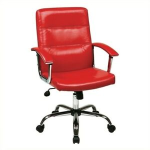 Scranton Co Office Chair In Red
