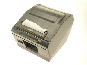 Star Tsp800l Thermal Pos Barcode Label Receipt Printer Usb Serial Autocut Tested