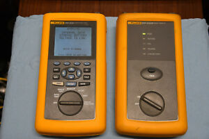 Fluke Networks Dsp 4000 Cable Analyzer Tester Working Condition Dsp 4000 Cal Mod
