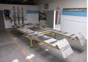 Chief E Z Liner 2 18 Frame Machine With 3 Towers Frame Rack And Clamps
