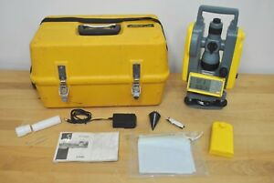 Trimble Spectra Precision Det 2 Digital Construction Theodolite W Case Acces