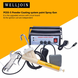 New Version Portable Powder Coating System Paint Gun Pc03 5 Ce