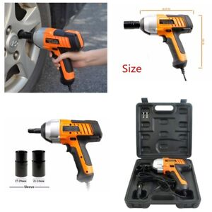 12v 1 2 380n M Electric Power Impact Wrench Automotive Kit Air Car Repair Tool