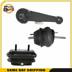 Engine Motor Transmission Mount For Buick Lucerne Cxl Sedan 3 8l Fwd Set 3pcs