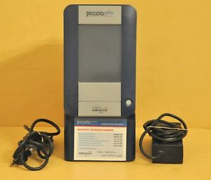 Abaxis Piccolo Xpress Chemistry Blood Analyzer 1100 1000 Lab Analysis 2 1 35
