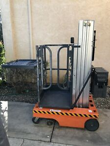 2007 Jlg 12sp Electric Personnel Lift Man Lift 18ft Working Height Sacramento