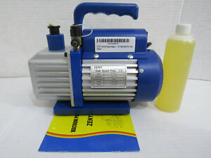 Zeny Super Deal Vp125 Single stage 3 5cfm Rotary Vane 5 Pa Vacuum Pump