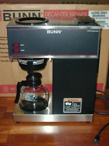 Bunn Vpr Commercial Coffee Brewer Maker Local Pickup Only