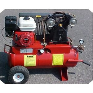 5 5 Hp 17 Gallon Gas Driven Air Compressor