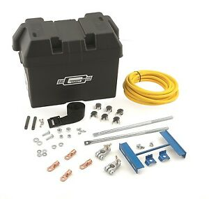 Mr Gasket 6279 Battery Box Kit Trunk Mounted Battery Installation