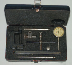 Starrett No 196 Universal Dial Test Indicator With Case