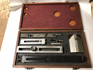 Machinist Tool Lathe Mill Machinist Gage Gauge Set Blocks Height
