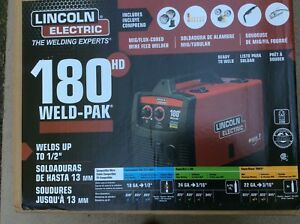 Lincoln Electric 180hd Wire Feed Weld pak K2515 1 Brand New Sealed