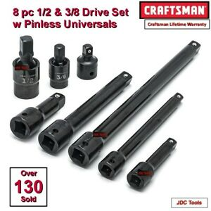 Craftsman 51 Pc 1 2 In Drive Impact Socket Set New 55 52 48 95 78