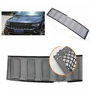 Blk Front Bug Grille Mesh Grill Insert For Jeep Grand Cherokee 2014 2015 2016