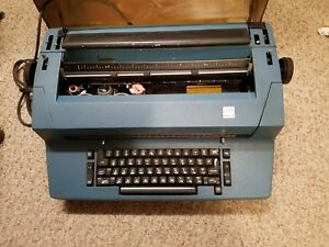 Ibm Correcting Selectric Ii Electric Typewriter Blue Color