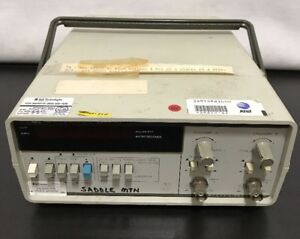 Hp 5314a 100 Mhz Universal Frequency Counter Timer Calibrated Ham Works