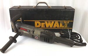 Black Decker Timber Wolf 1 2 Right Angle Drill Case Model 1350 Used