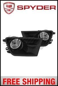Spyder Ford Mustang 2015 2016 Oem Fog Light W universal Switch Clear
