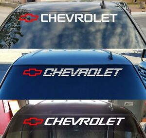 Chevy Trucks Window Sticker Bed Tailgate Vinyl Decal Chevrolet Logo