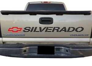 Silverado Vinyl Decal Chevrolet Bed Tailgate Sticker 1500 2500 Trucks