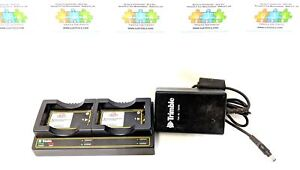 Trimble Oem Dual Bay Battery Charger P n 41114 00