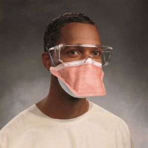 Fluidshield Particulate Respirator Surgical Mask N95 Pouch Small Orange Bx 35