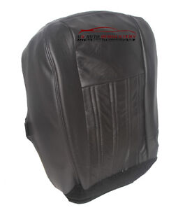 2004 Ford F250 F350 Harley Davidson Driver Bottom Replacement Seat Cover Black