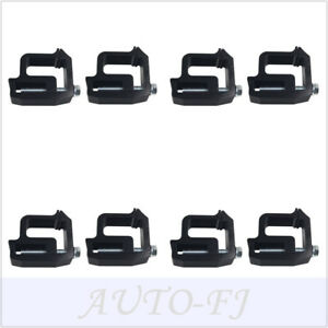 8 Truck Cap Topper Camper Shell Mounting Clamps Heavy Duty Tl 2002 Black