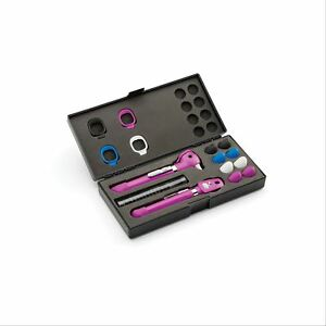 Welch Allyn Pocket Plus Led Diagnostic Set Plum 1 Ea