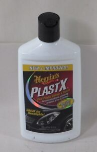 Meguiars G12310 Plastx Clear Plastic Cleaner Polish 10oz New And Improved