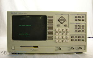 Agilent hp 35660a Dynamic Signal 2 Ch Analyzer 244 hz 102 4 Khz Warranty