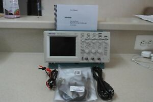 Tektronix Tds220 2 Channel Digital Oscilloscope 100mhz 1gs s