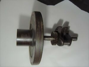 Vintage Fairbanks Morse Z Stationary Engine Style D Crankshaft And Flywheel