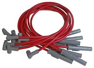 Msd Spark Plug Wires Spiral Core 8 5mm Red Stock Boots Chevy Gmc 8 1l V8 Set