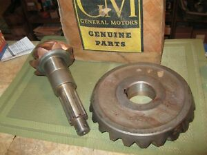 Nos 1946 55 Chevrolet Truck Rear Ring And Pinion Axle Set