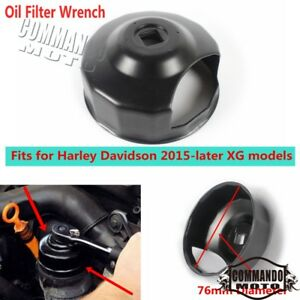 Motorcycle 76mm 3 8 Drive Oil Filter Wrench Socket Remover For Harley Xg 2015