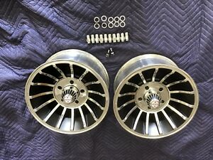 Vintage 14x7 Turbine Hurricane Vector Mag Wheels Gm Pattern Mopar Ford Chevy