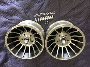 Vintage 15x8 5 Turbine Hurricane Vector Mag Wheels Gm Pattern Chevy 4 3 4