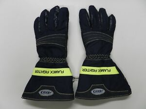 Chiba Flamex Fighter Firefighter Turnout Gloves Nfpa 1971 2007 Edition Medium