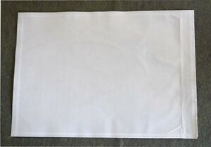 1000 Pcs 7x10 Clear Plain Packing Slip Invoice Shipping Label Envelope Pouch Bag