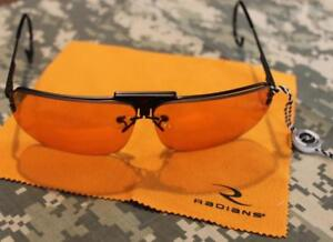 New Radians Shotgunner 3 Lens Kit Shooting Glasses Scratch Resistant Wrap Around