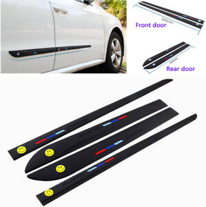 4pcs Car Styling Anti Collision Edge Guard Silicone Protection Sticker Universal