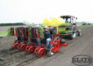 New Mechanical Transplanter Heavy Duty Trailer With Four 5000w Units 814