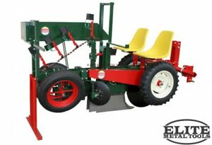 New Mechanical Transplanter 1980 3 Special Three row Nursery Unit