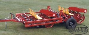 New Mechanical Transplanter Six Row Bed Planter Unit 525 6