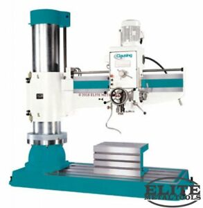 New Clausing Radial Drill 62 Arm 27 x19 x15 Table
